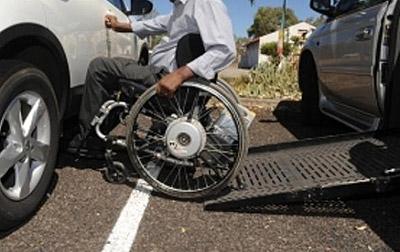 Disabled Car Park Side Access