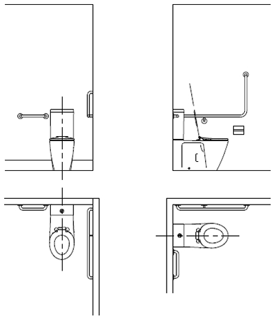 Typical Accessible Toilet Layout